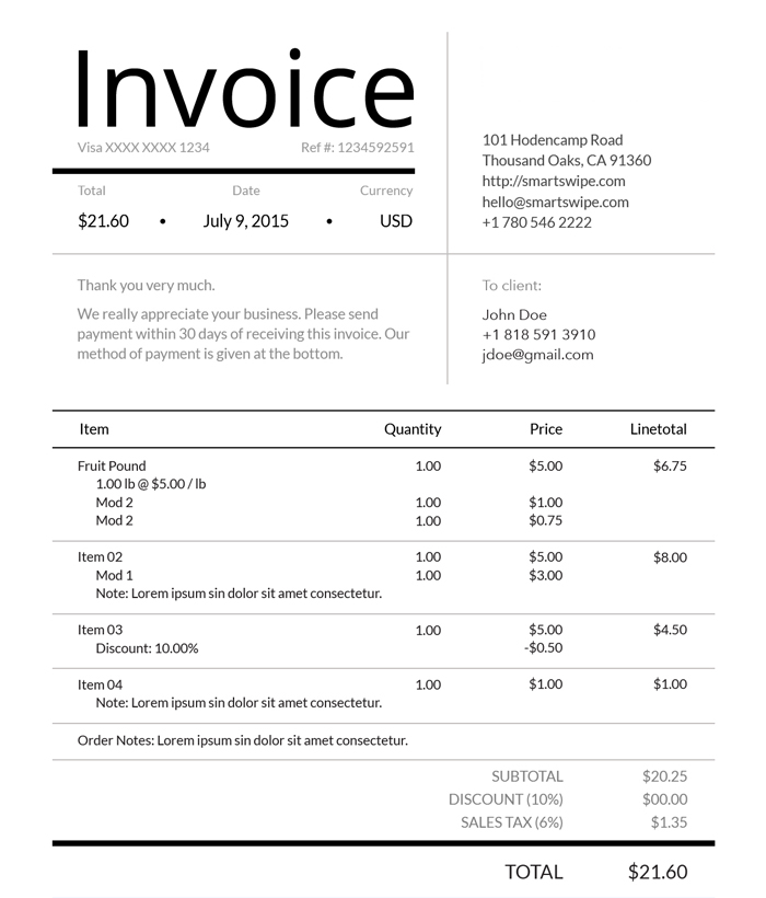 invoice-ultimate-convenience